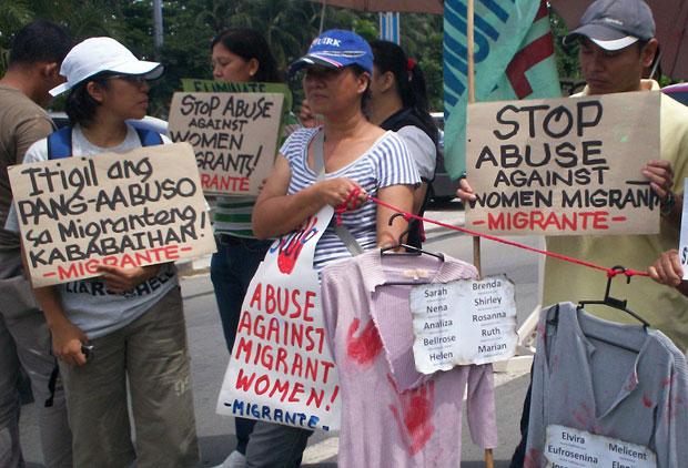 Ang isyu ay ang patuloy na pang-aabuso sa mga kababaihan lalo na sa